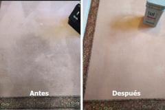 Limpieza de alfombra