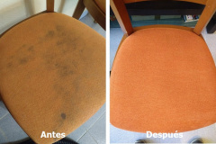 Limpieza de tapicería de sillas
