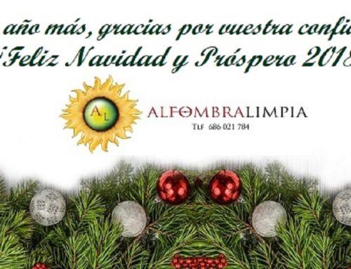 ¡Feliz Navidad y Próspero 2018!