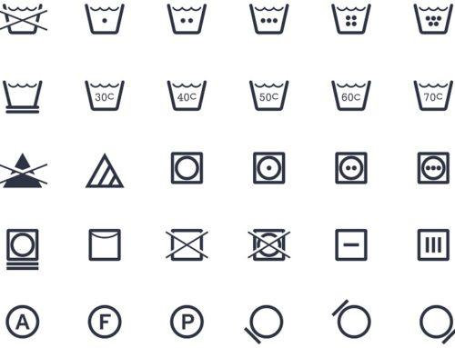 Etiquetas de lavado: ¿qué significan?